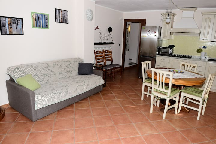 Appartement dans une maison rurale  - Gravere - Cabaña