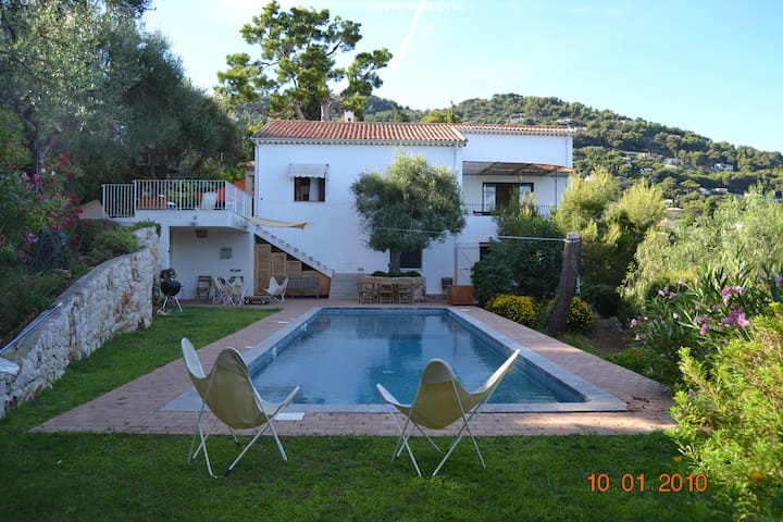 Spacious 5 bedrooms villa with pool scenic seaview - Roquebrune-Cap-Martin - Villa