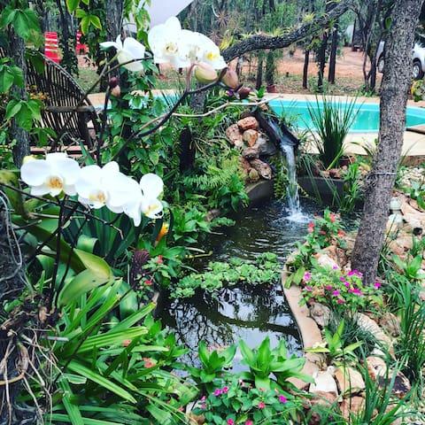 Acampe no Cerrado - Campo Grande - Cabaña