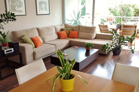 Bright and Airy Apartment with Large Balcony - Apartmen