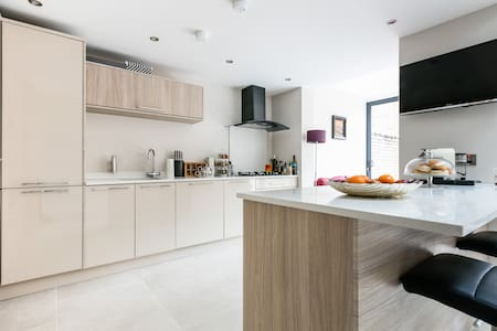 Modern  Town House in South Belfast - Belfast - Huis