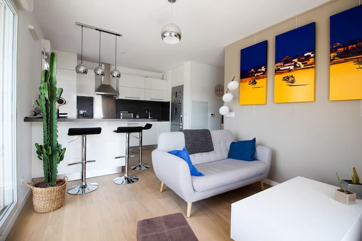 MODERN APARTMENT WITH BALCONY - MAZARGUES - Marseille - Apartment