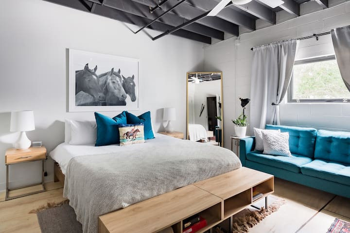 Bedroom area