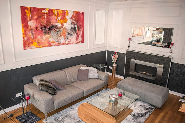 Stylisches 110qm Neubau Designer-Apartment