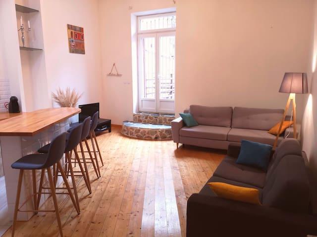 Appartement de charme avec terrasse à Fitou T2