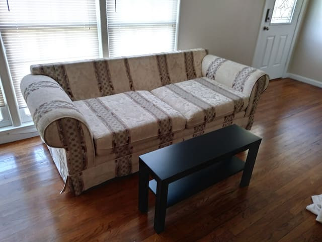 Cozy LIVING ROOM COUCH by airport