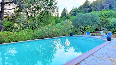 NEW! Villa Les CIGALONS en pleine pinède + PISCINE