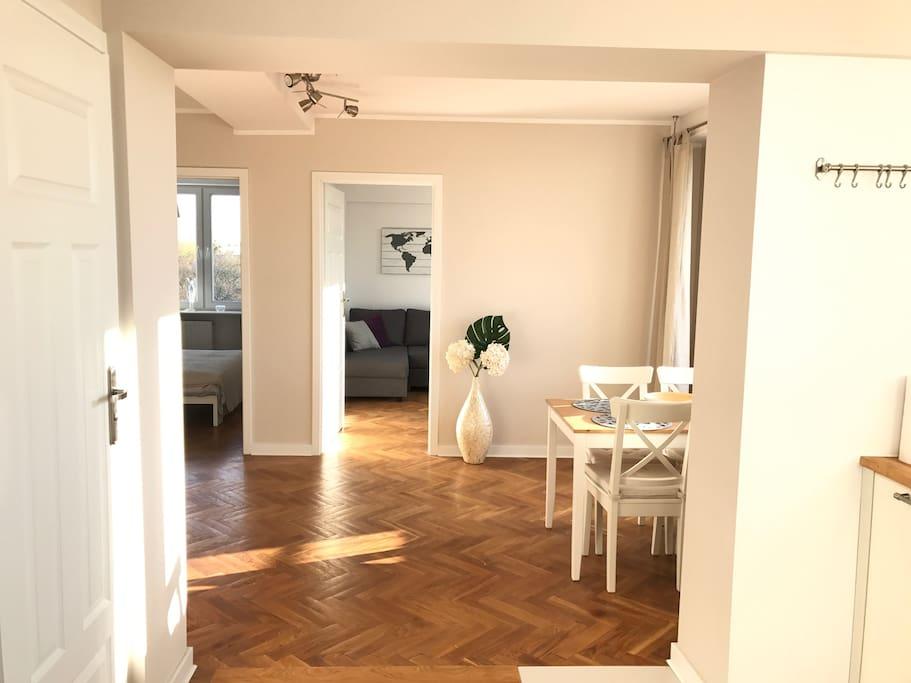 Widok od korytarza