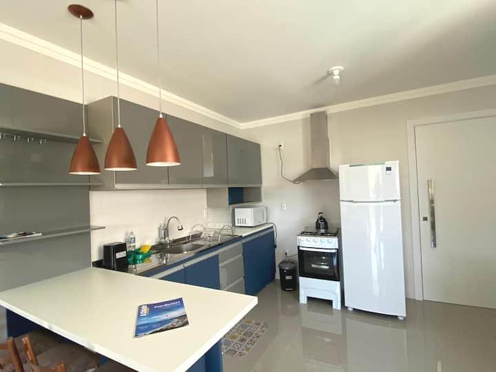 Apartamento na Praia de Palmas Gov. Celso Ramos-SC