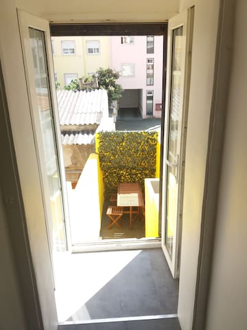 Apartment with terrace in city center - Lisboa - Byt