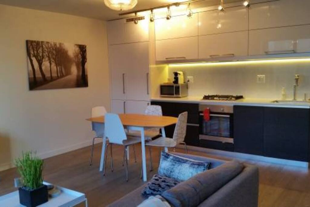 Living Area+ Kitchen