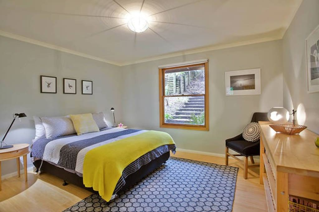 Bedroom 1 (Queen) with linen and towels included
