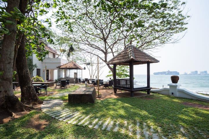 Decored pool villas which Evoke Victorian splendor