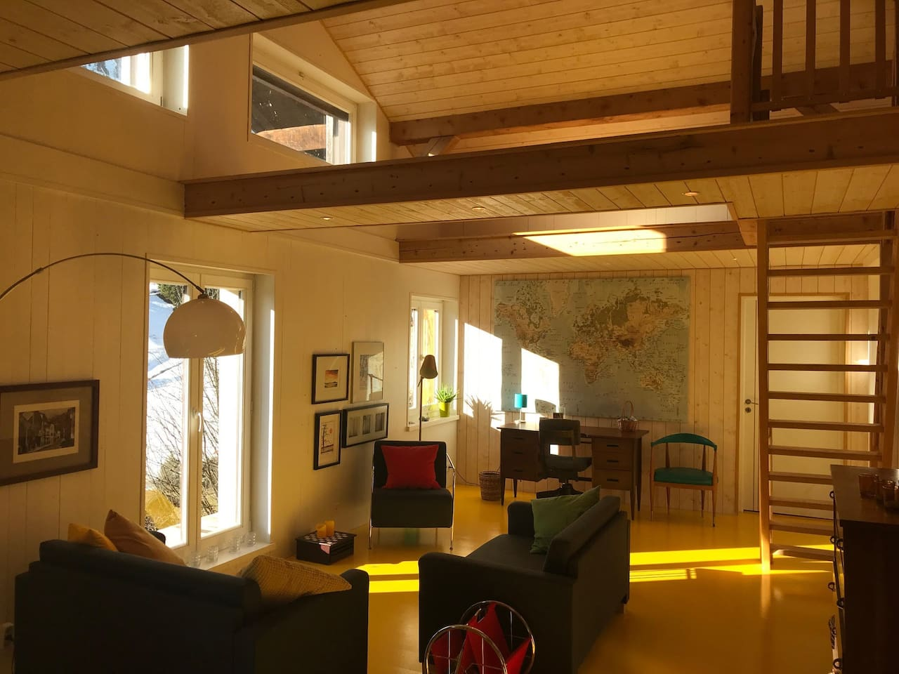 A room to make you feel happy