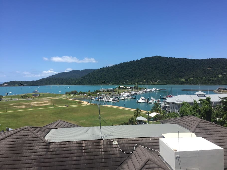 View of 'Port of Airlie' from Balcony