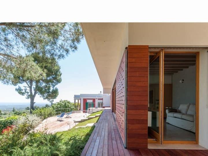 Amazing design villa, seaview & pool, Monopoli