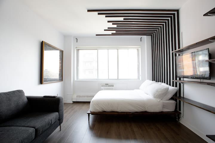 Montréal's Modern Flat