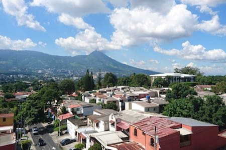 Best view of the city! - antiguo cuscatlan - Appartement