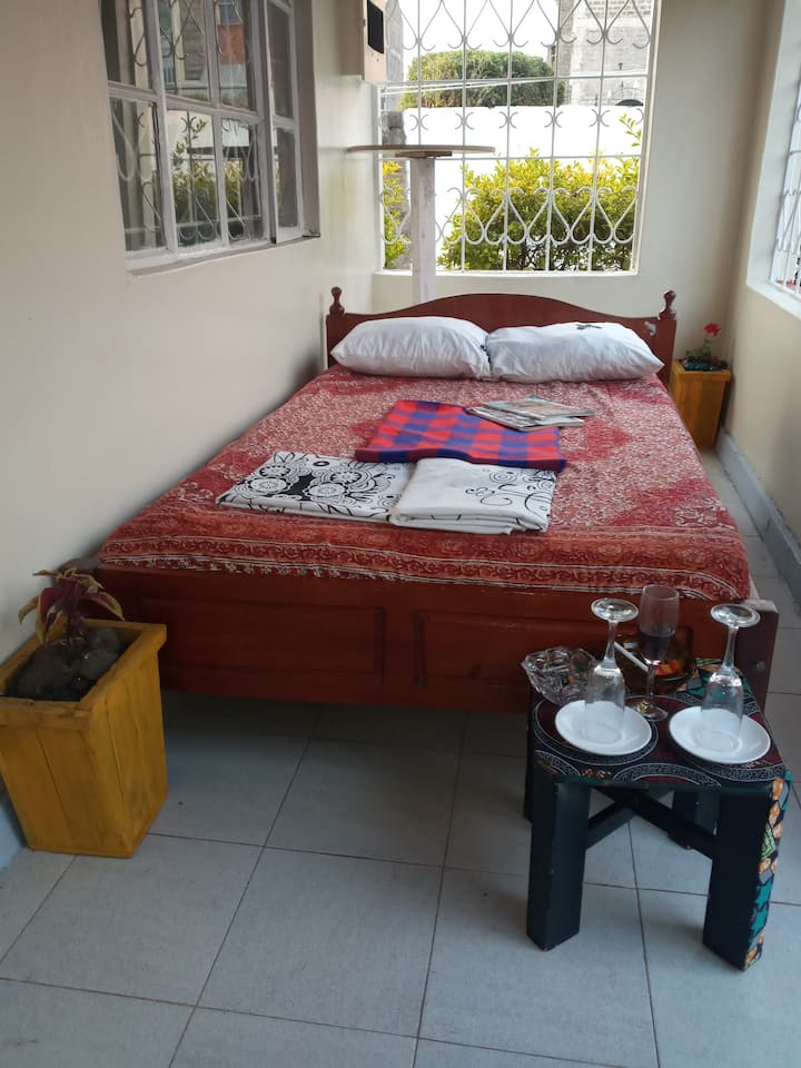 Eduardo House, A home with a View and Humor.