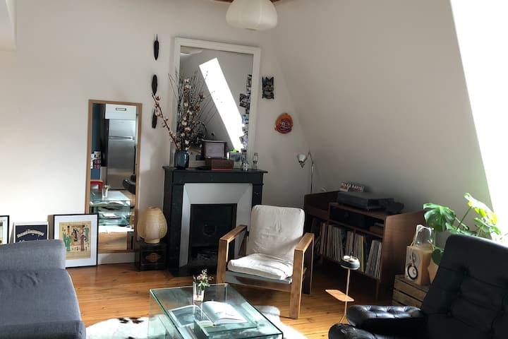 Cosy & Quiet Duplex in central Paris
