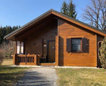 4-Sterne Blockhaus im Jägerpark Viechtach