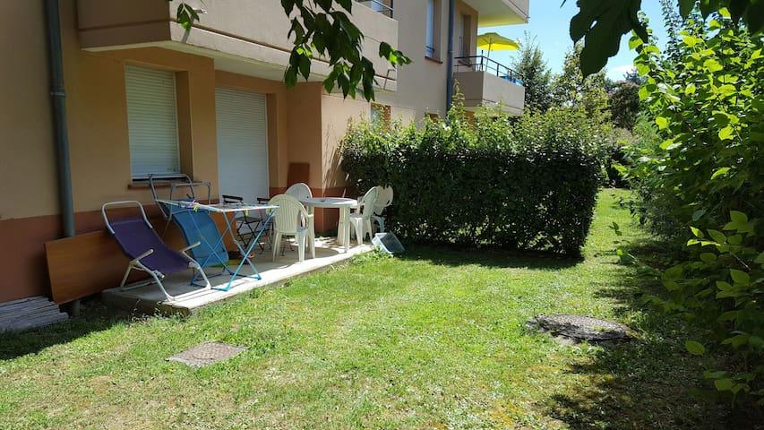 Appartement avec piscine ou chambre - Castelnau-d'Estrétefonds - Lakás