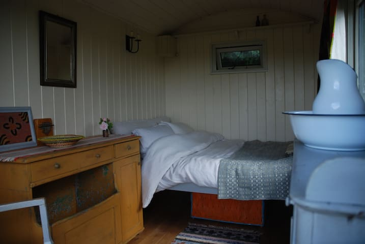 Shepherds Hut in the Brecon Beacons National Park