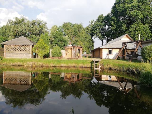 Усадьба хуторок на Дунаевке