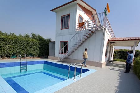 Farm with Swimming Pool and 4 Rooms
