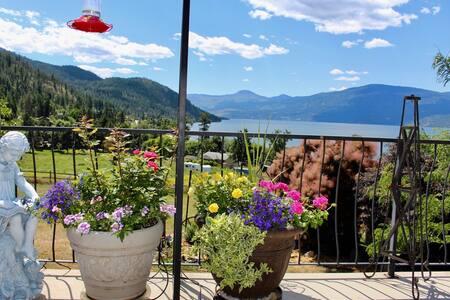 Picturesque Okanagan Lake View Home