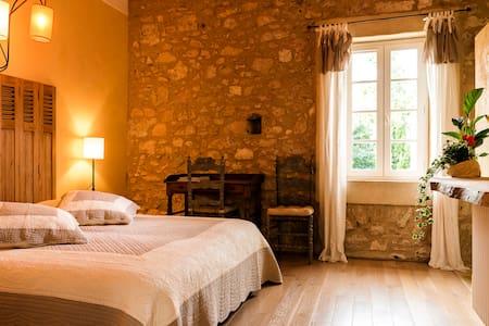 """Chambre """"JASON"""" à la Jinolié, Demeure de Caractère - Damiatte"""