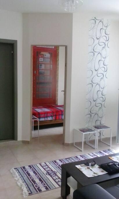 №1 отдельная спальня с 1 местной кроватью
