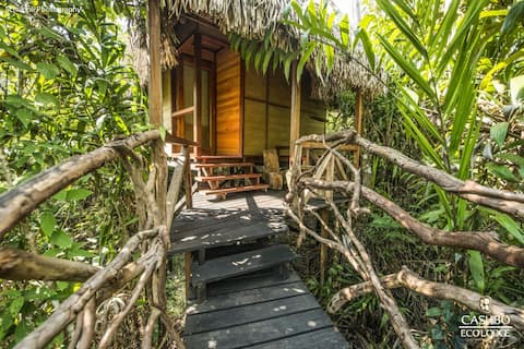 Cashibo Ecolodge - búngalos dentro de la selva