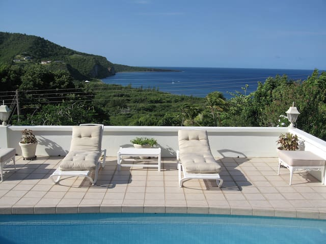 Las Alamandas - Montserrat's Best Ocean View - Old Town - Vila