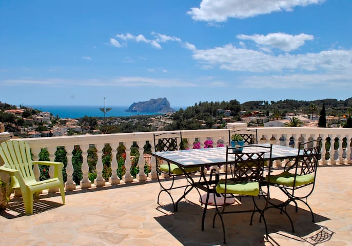 Beautiful sea and coast views - Benissa - Casa