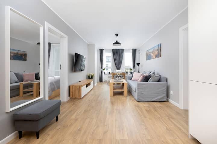 Apartment Platany A30| 2 Bedrooms, Balcony
