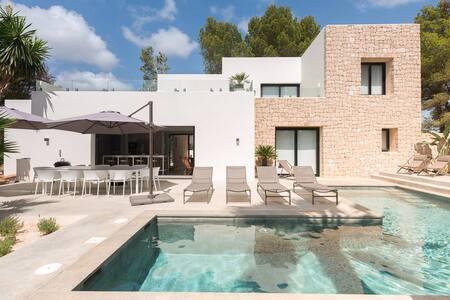 Villa Higueras (10 persons) with amazing sea view - S'Argamassa - Villa