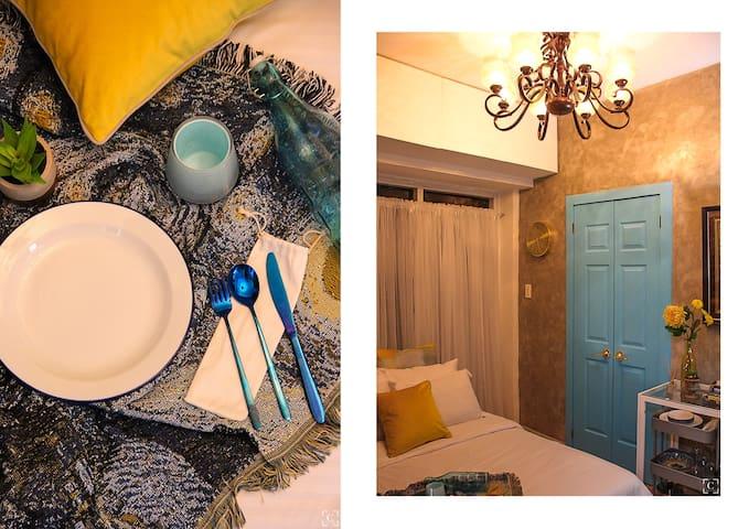 Van Gogh in Manila - 2BR w Balcony 100mbps+Netflix
