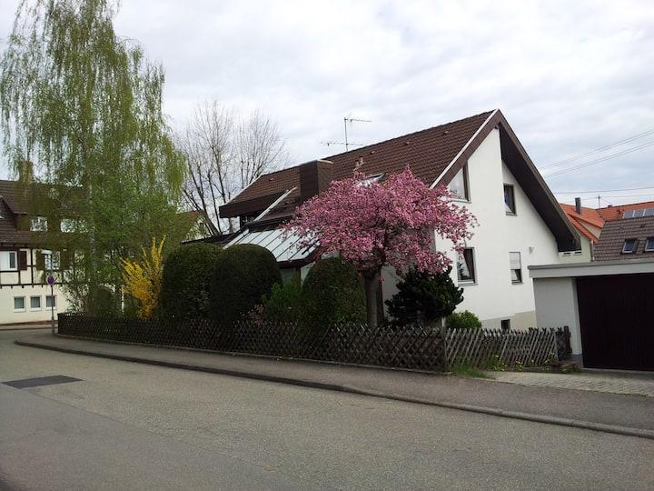 """Haus unter den Birken"" Privatzimmer Merklingen"