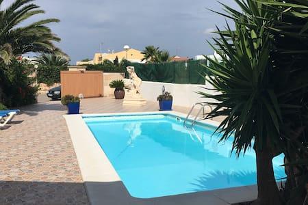 Villa Isa. Gran jardín y barbacoa - Cap d'Artrutx - Villa