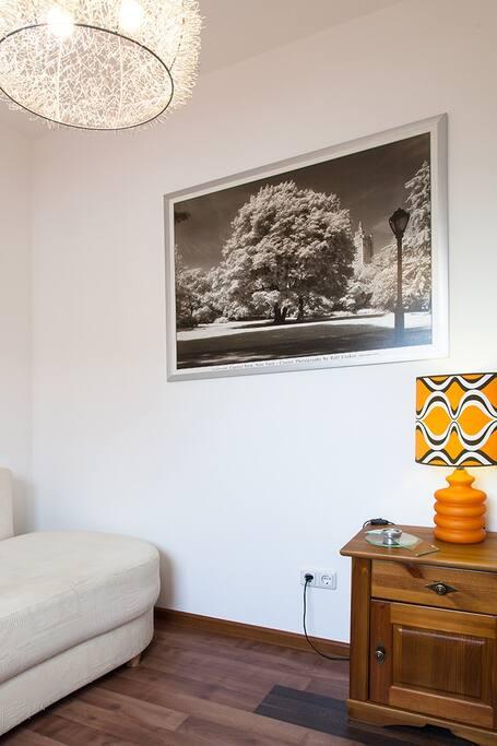 Kleines Gästezimmer im EG
