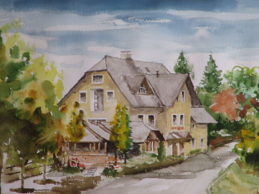 Guesthouse Zorko/Gostilna Domen made by famous slovenian painter