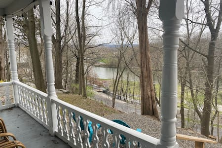 Catskill Village  House quiet location water view