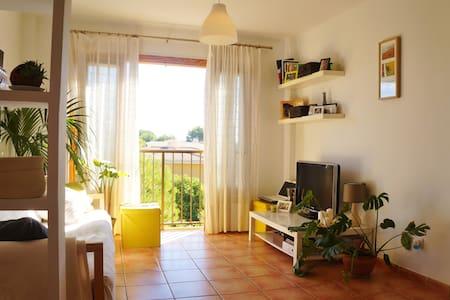 Gemütliches ruhiges Doppelzimmer in Strandnähe - Illes Balears - Appartamento