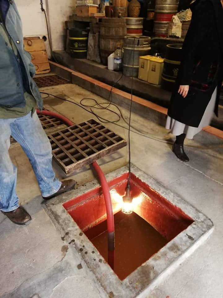 Under surface wine tanks