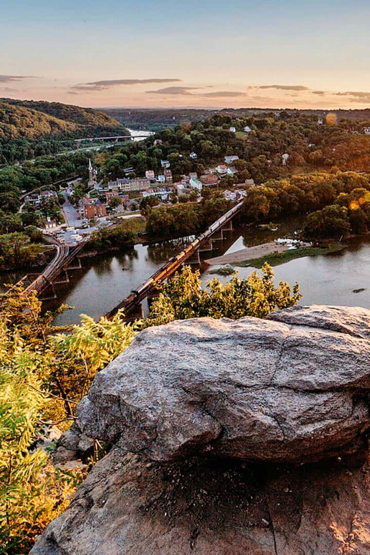 Nearby Harpers Ferry offers food & fun
