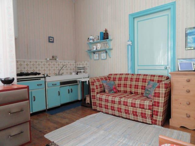 Cosy studio à Saint Brieuc, à 15 mn de la mer