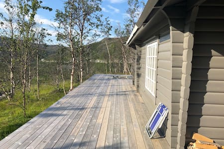 Perfekt for jakt/fiske! Hytte i Vest-Finnmark
