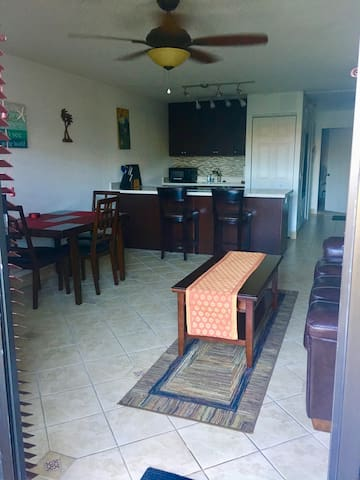 Longview of condo after kitchen remodel