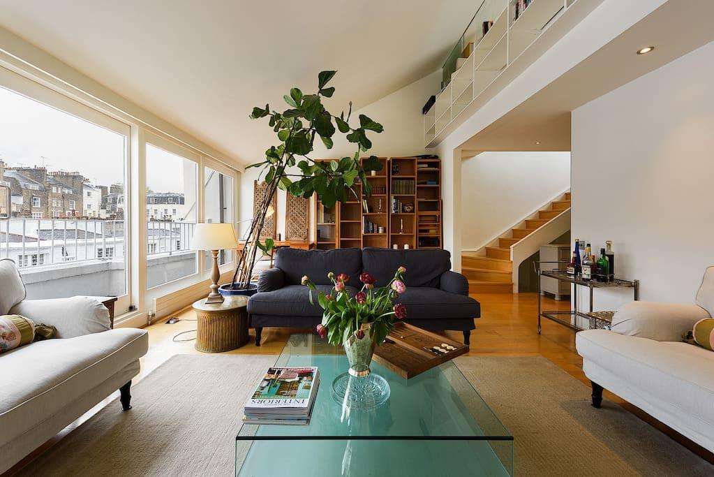 Luxury penthouse next to hyde park appartements louer - Penthouse paddington londres en angleterre ...